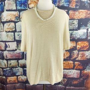 Nikki sweater size L.  #N92